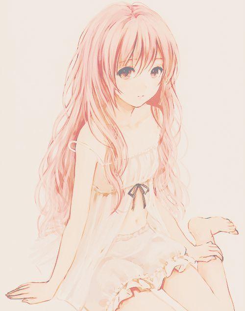 There is finally an anime section on Pinterest! Atashi ga ureshi desu yo  https://www.facebook.com/reynosa.planas: Manga Girl, Anime Manga, Animeart, Pink Hair, Anime Art, Anime Girls