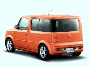 nissan cube, car, cars, designs, vehicles, orange