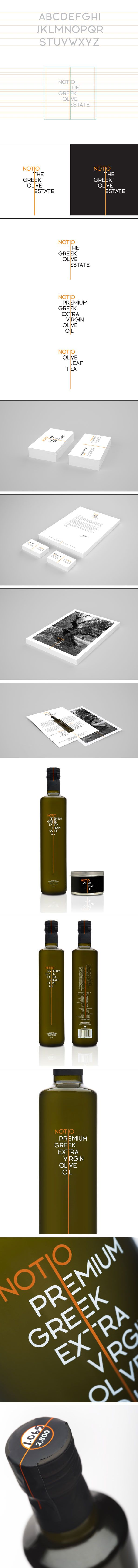 Branding, identity and packaging for Notio Goods, more here> http://www.comebackstudio.com/portfolio/notio-goods/  extra virgin olive oil, olive oil packaging