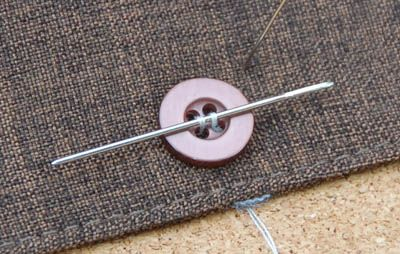 How to Sew a Button Quickly and Correctly | The Art of Manliness