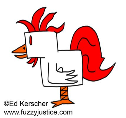 Boxy Rooster