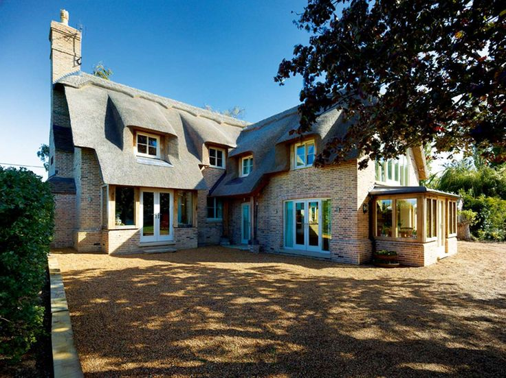 Best 11 i cant believe its a new build images on pinterest house charming thatched cottage homebuilding renovating malvernweather Gallery