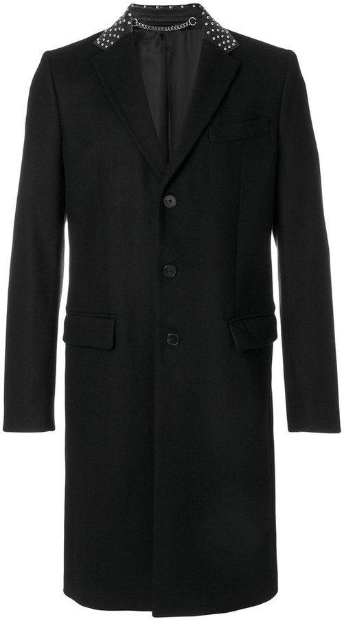 Givenchy stud collar coat
