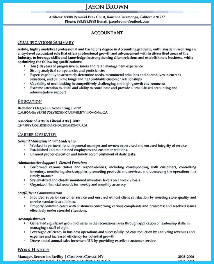 Audit Accountant Sample Resume Senior Internal Controls Analyst