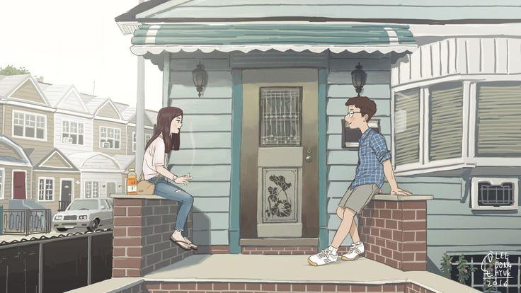 Front Door / 2016 #art #drawing #romance #love