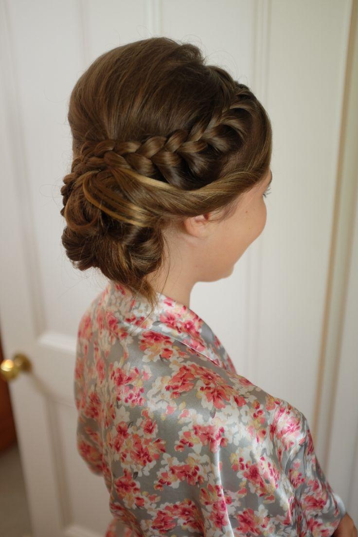 Junior bridesmaid #JBM #hair #braid #lightmakeup #naturalmakeup #fresh #gorgeousgirl #happygirl #mamasgettingmarried #realwedding #pinkwedding #olivewedding #verandahs