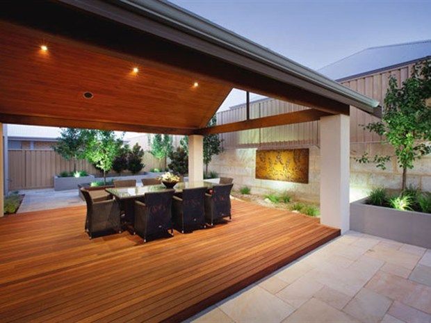 alfresco extended - divide yard into different zones
