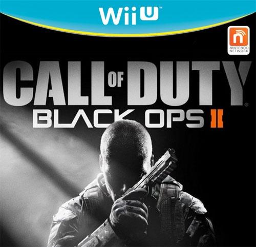 Black Ops II Wii U Box Art
