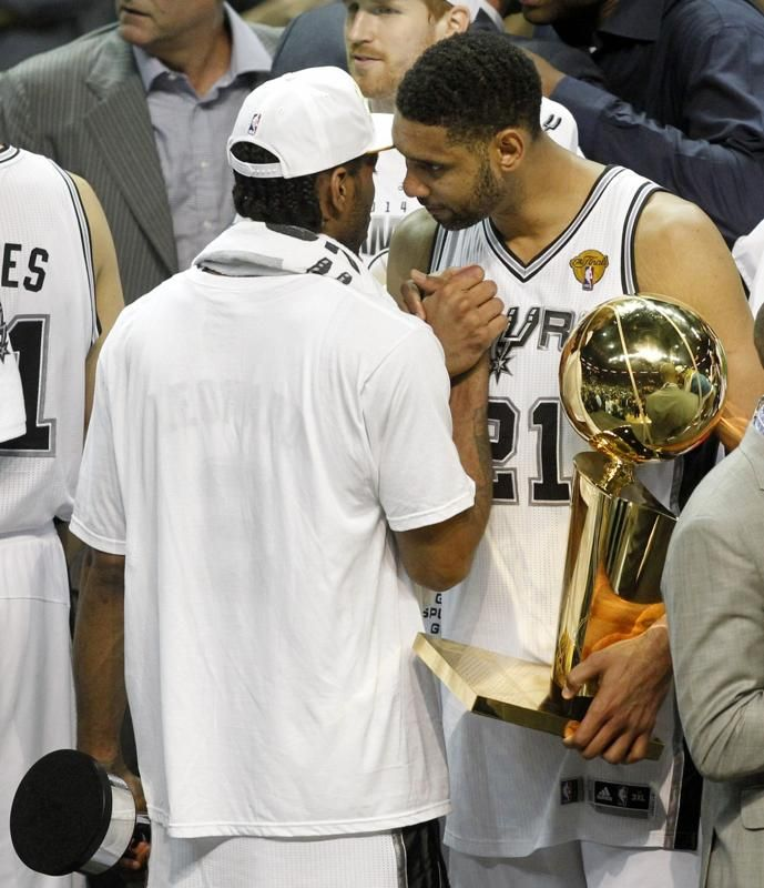 San Antonio Spurs Nba: San Antonio Spurs Win NBA Title In Five Games Over Miami