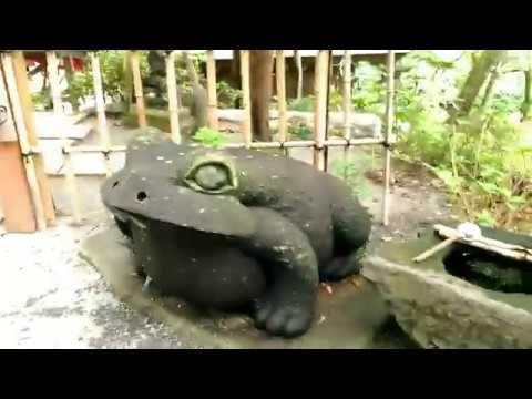 YouTube  【パワースポット】如意輪寺かえる寺(清影山 如意輪寺)福岡県小郡市にあります。
