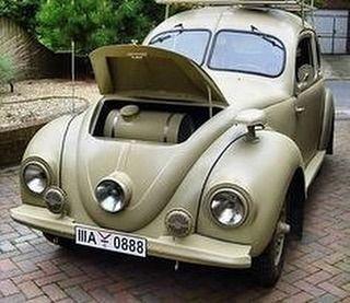 #VW Käfer, Build After the War, mit Hanomag Body und Kübelwagen Chassis #vint …  – VW