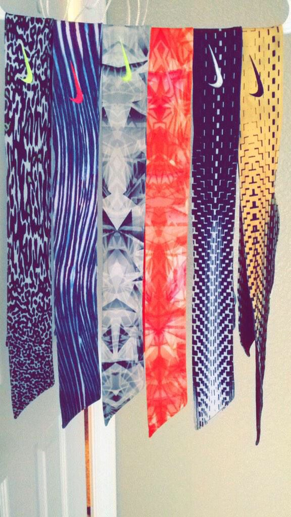 I LOVE THESE HEADWRAPS FROM NIKE