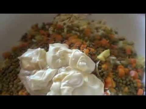Zemiakový šalát majonézoý