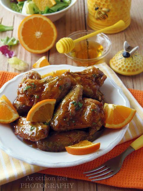 Az otthon ízei: Fűszeres, ragacsos, narancsmázas csirkeszárnyak