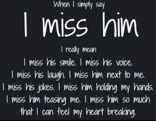 "The words ""I miss him"" don't even come close to describe the yearnings of a mother who has lost her child."