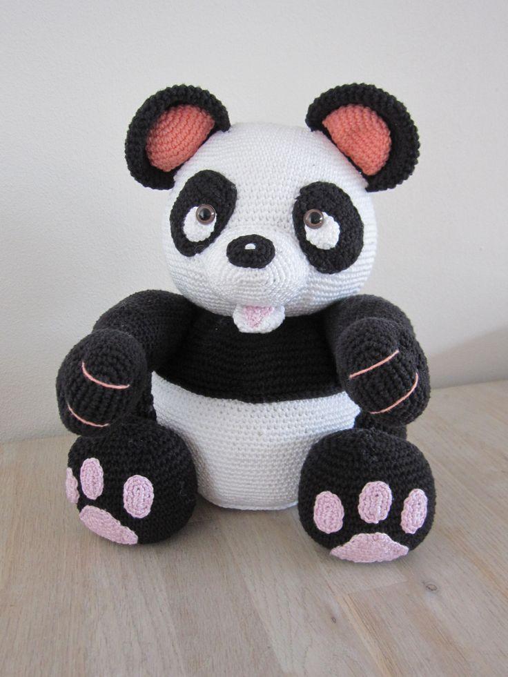 Panda beer, een patroon van Mala designs.