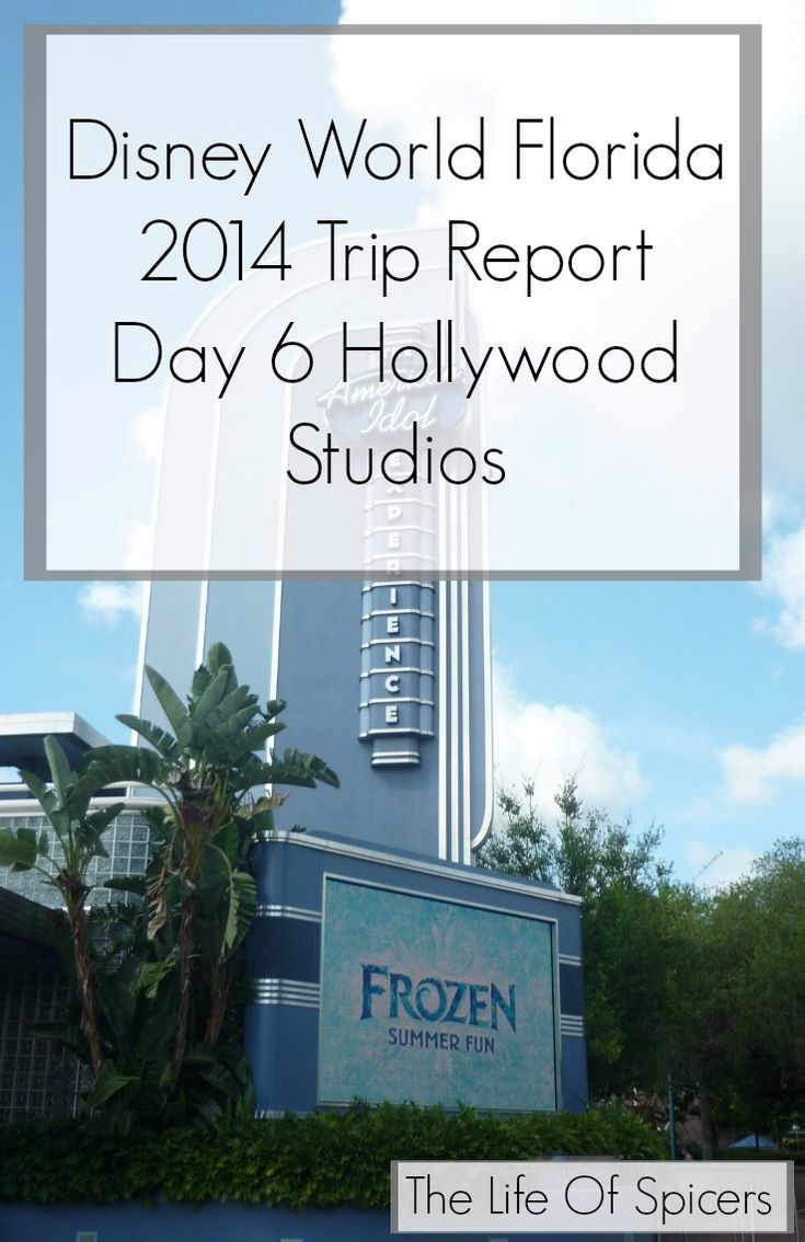 Disney World Florida 2014 Holiday Day 6 Hollywood Studios - The Life Of Spicers