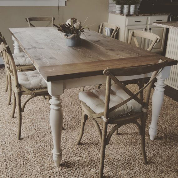 best  about Tables on Pinterest  Barnwood dining table