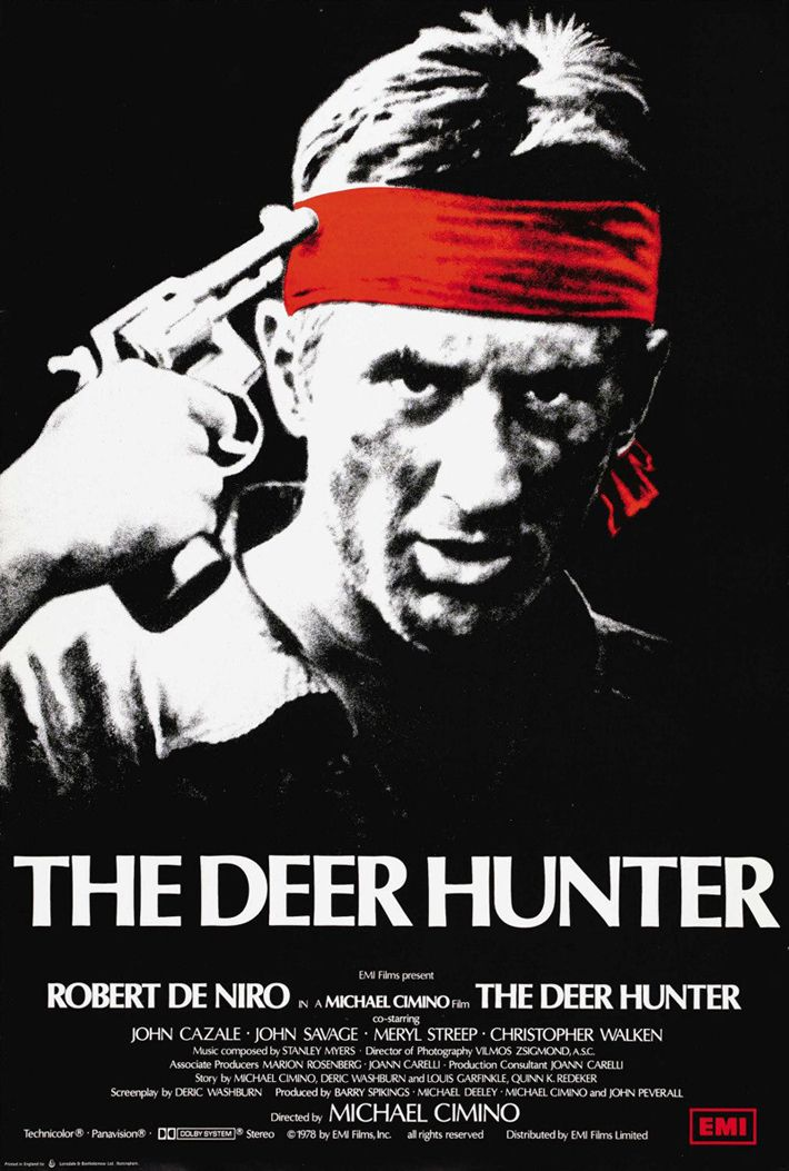 The Deer Hunter (1978) An in-depth examination of the ways in which the Vietnam War disrupts and impacts the lives of people in a small industrial town in Pennsylvania.