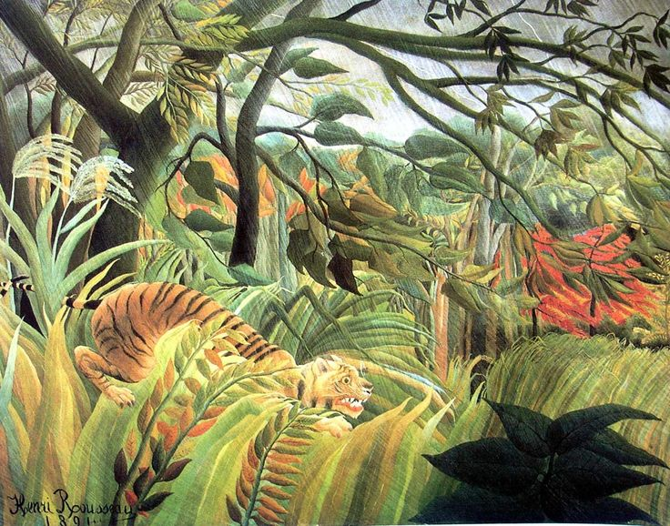 Google Image Result for http://images5.fanpop.com/image/photos/26600000/Tiger-in-a-Tropical-Storm-Henri-Rousseau-fine-art-26618623-1200-943.jpg