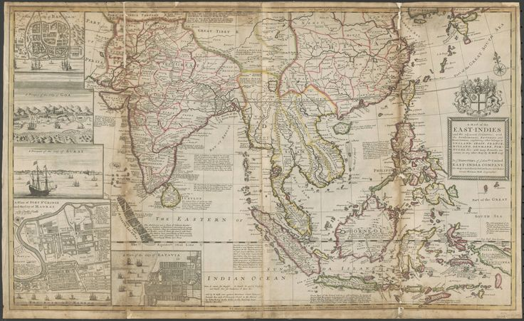 A map of the East-Indies and adjacent countries : with settlements, factories, and territories - Imgur