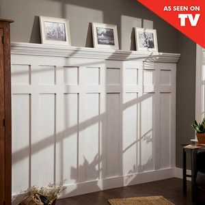 Check out this project on RYOBI Nation - Who has a blank and boring wall that needs a little revamping?   We have your solution!   This is a super easy and inexpensive project that works great on any wall in your house!  We are going to show you how to get a customized board and batten look using a few boards and some of our favorite Ryobi Power Tools!