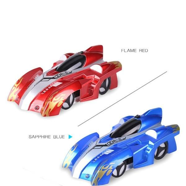 New Wall Climber RC Radio Control Ceiling Climbing Anti Gravity Racing Car Gift