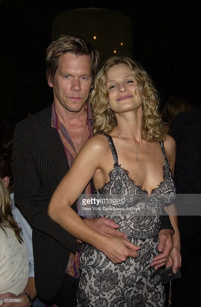 Kevin Bacon and wife Kyra Sedgwick are on hand at Man Ray for the W. 15th St. restaurant's first anniversary party.