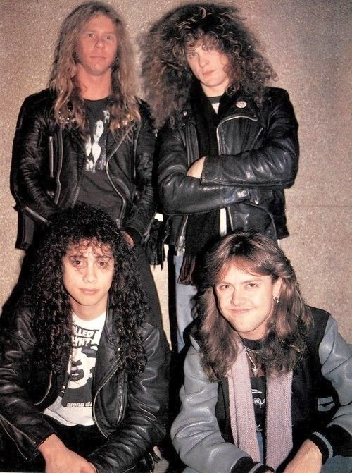 Metallica back when they were kings