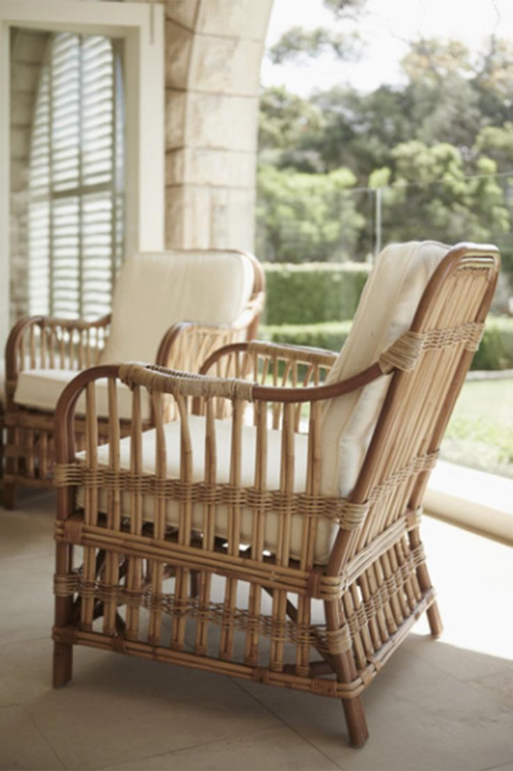 Best 25 rattan chairs ideas on pinterest rattan - Rattan living room furniture for sale ...
