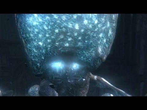 Bloodborne Celestial Emmisary Boss Fight - YouTube
