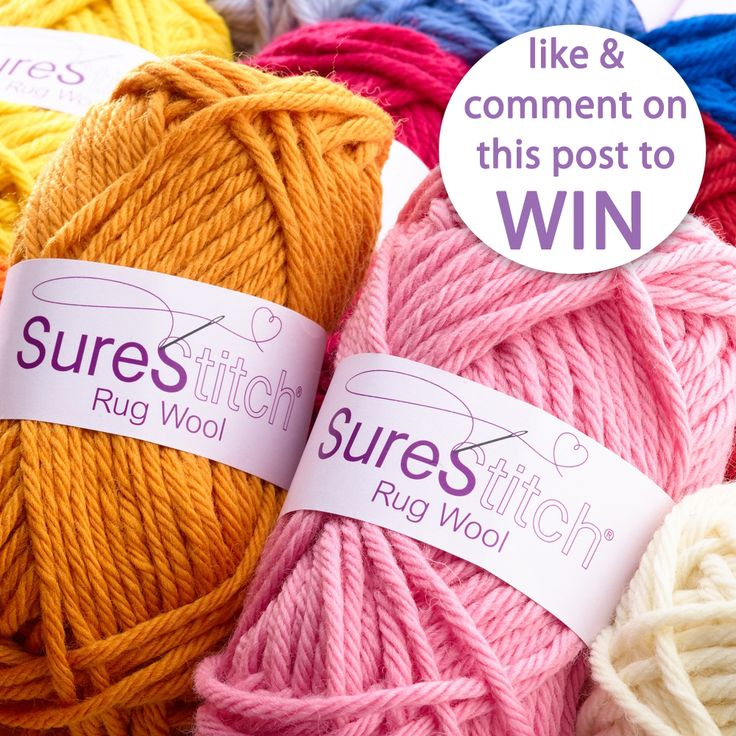 Win It Wednesday - Head over to our Facebook page to see how you could win a chunky yarn bundle!  Love, Homecrafts.