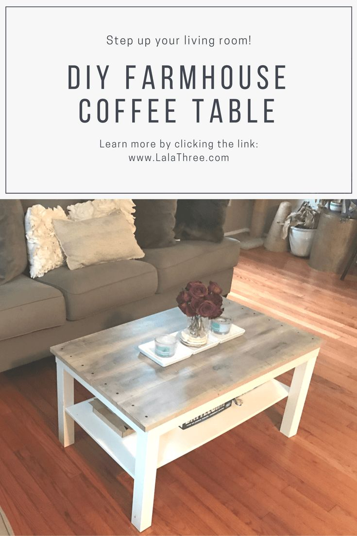 best 25 farmhouse coffee tables ideas on pinterest wood coffee tables diy coffee table and. Black Bedroom Furniture Sets. Home Design Ideas