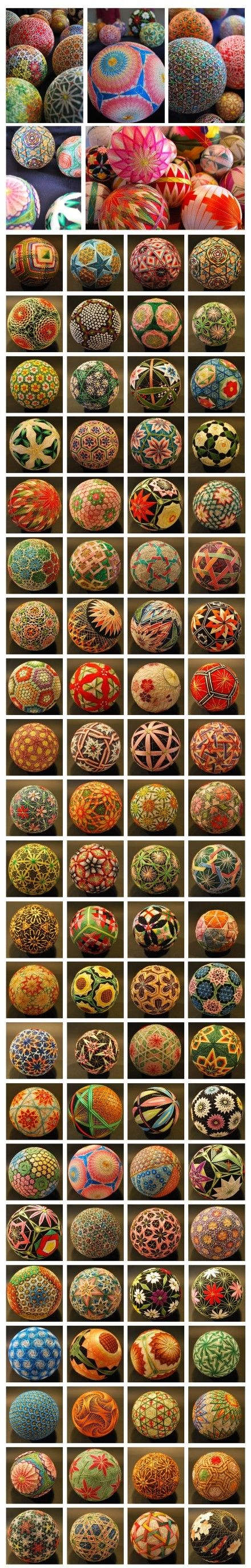 Temari --- folk art from Japan