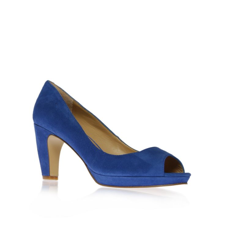 Shipshape suedette peep-toe shoes, £65 www.ninewest.co.uk