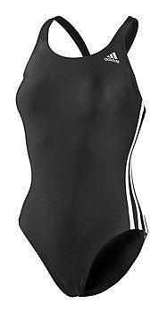 ADIDAS Schwimmanzug Damen schwarz/weiß