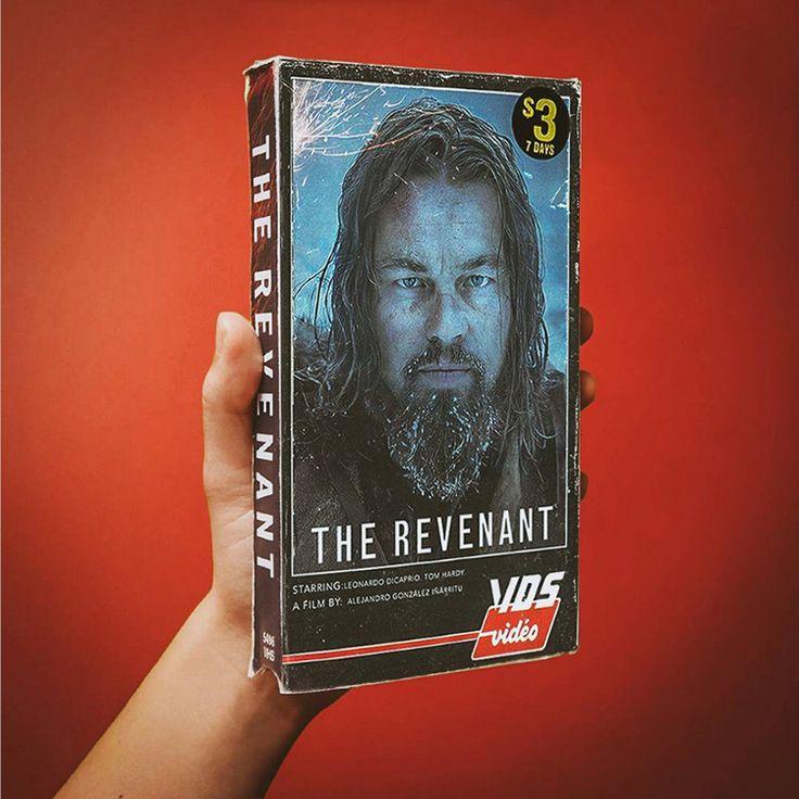 Películas actuales como cintas VHS antiguas
