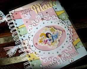 Agenda/caderno Princesas