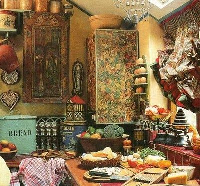 Maybe I'll have to re-think my shaker kitchen, bohemian is me.