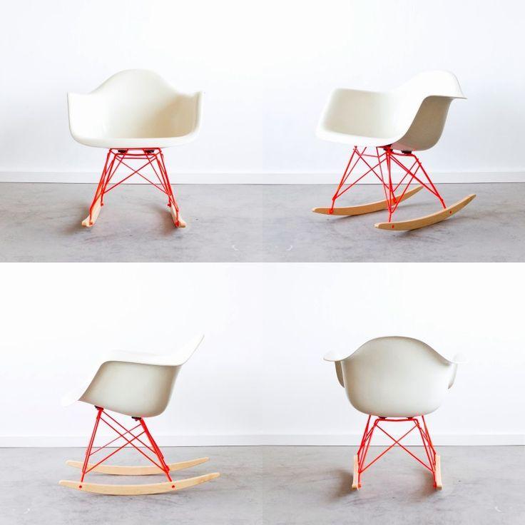 12 best eames images on pinterest - Acheter rocking chair ...