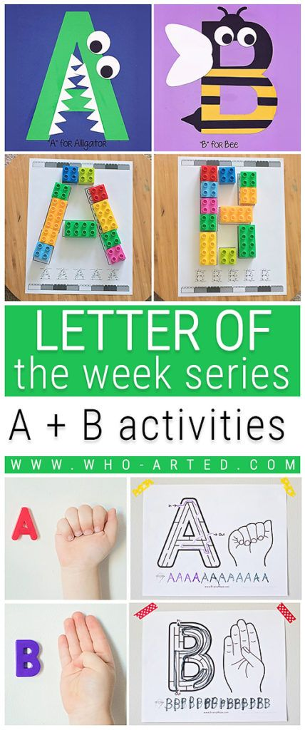 10 Letter of the Week activities to keep children active and engaged! #1, #2, and #3 are my favorites!