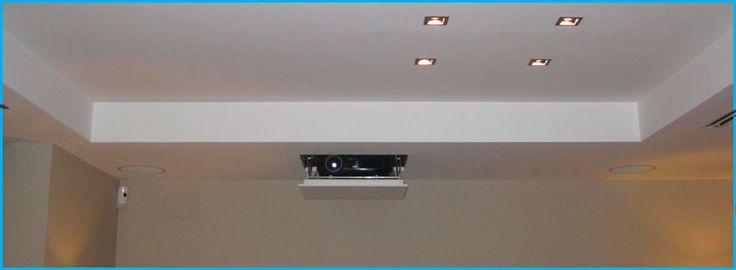 Como ocultar un video beam en el techo