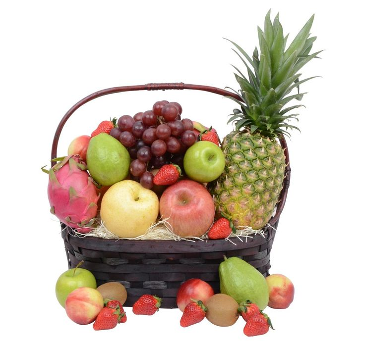 Exclusive Fruit Gift Basket