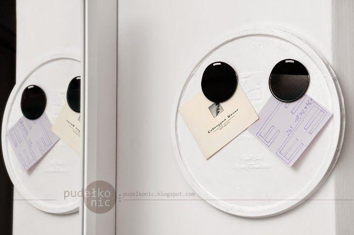 pudełko nic: Tablica magnetyczna DIY - Rozwiązanie zagadki