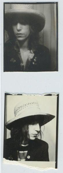 Patti Smith #photobooth #photomaton