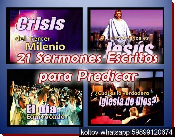 21 Sermones Escritos y en Power Point para Predicar | Recursos ... 21 Sermones Escritos y en