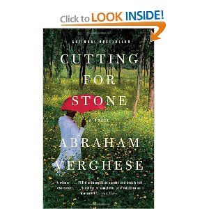 Amazing reading and writing!Worth Reading, Cut For Stones, Book Worth, Abraham Verghes, Book Clubs, Favorite Book,  Dust Covers, Book Jackets, Bookclub