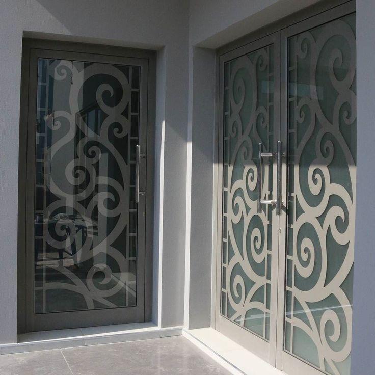 Instagram Photo By الساري للمنتوجات الخشبية May 9 2016 At 3 04am Utc Door Glass Design Door Gate Design Modern Exterior Doors