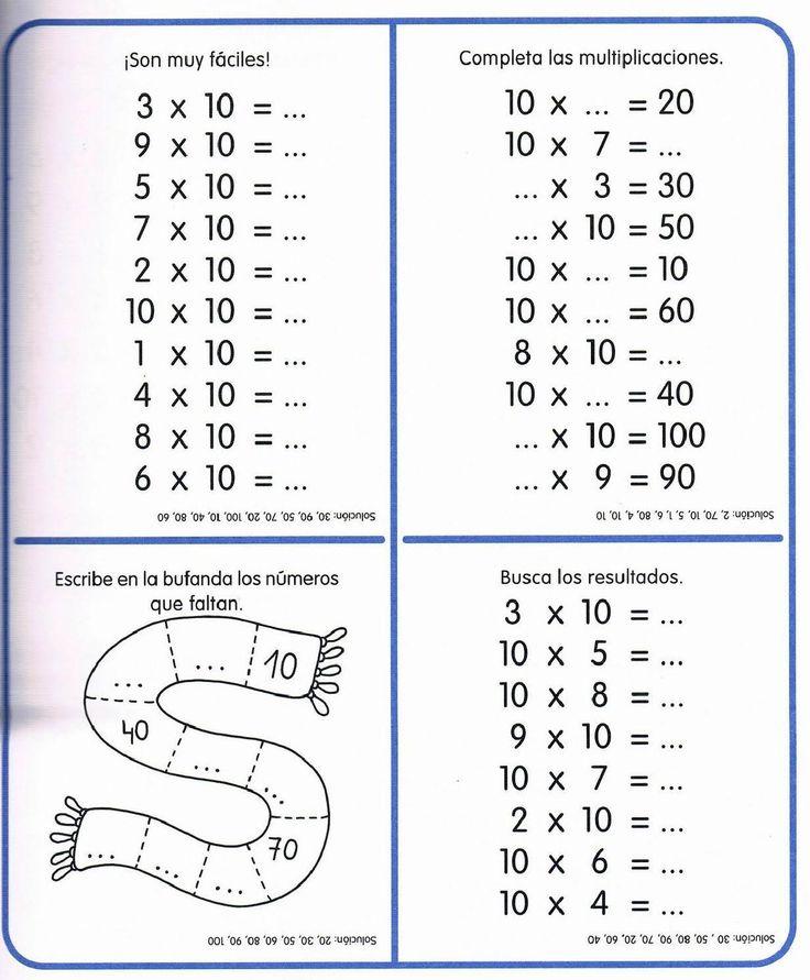 #ClippedOnIssuu from Tablas de multiplicar