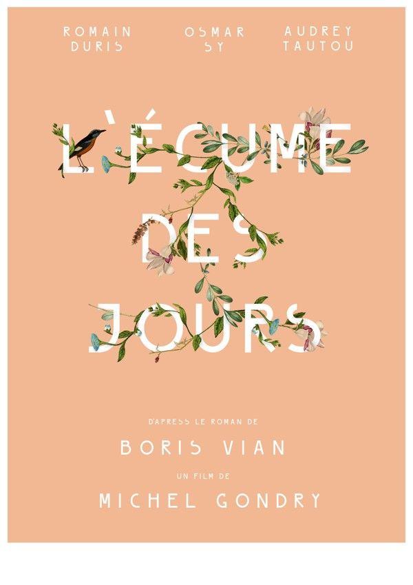 L'écume des Jours by Ivan Bezerra, via Behance #typography